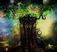 A Wisdom Tree by Vanessa Barklay