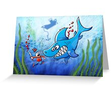Sharks are Furious, Stop Finning! Greeting Card