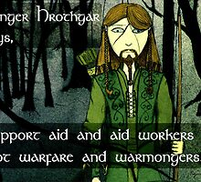 Ranger Hrothgar Says - Support Aid by Toradellin