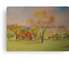 The weald of Kent Canvas Print