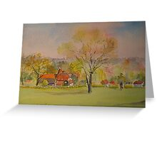 The weald of Kent Greeting Card