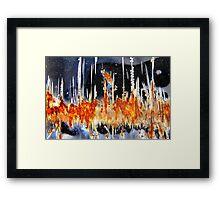 Celtic Fire Framed Print