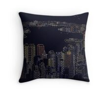 Nightscape  1999 Throw Pillow