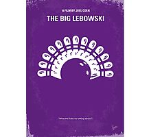 No010 My Big Lebowski minimal movie poster Photographic Print