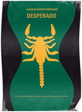 No021 My Desperado minimal movie poster by Chungkong