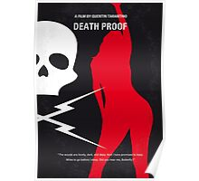 No018 My Death Proof minimal movie poster Poster