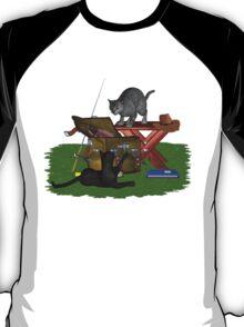 Cats a Fishing .. T-shirt T-Shirt