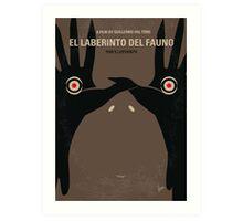 No061 My Pans Labyrinth minimal movie poster Art Print