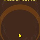 No068 My Raiders of the Lost Ark minimal movie poster by Chungkong