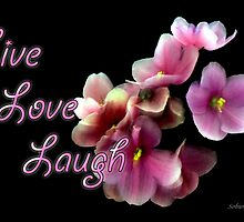 Live Love Laugh by Rosemary Sobiera
