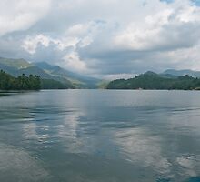 Mattupetty Dam Panoramic by Clive S