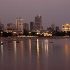 Mumbai Shoreline by Clive S