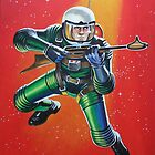 SPACEMAN by ward-art-studio