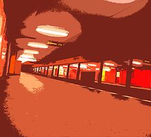 subway pop-art III by ARTistCyberello
