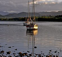 Boats on Ullswater by brianhardy247