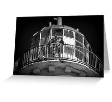 Talacre Metal Lighthouse ' Keeper ' Greeting Card