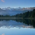 Lake Matheson Reflections by Images Abound | Neil Protheroe
