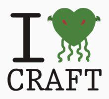 I Love Craft by Erizium