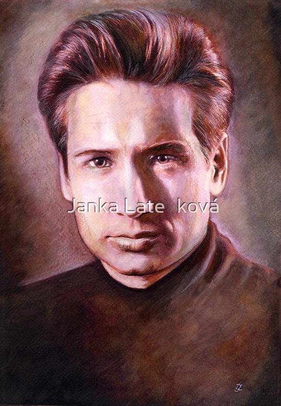 Fox Mulder by jankolas