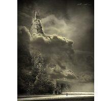 Cloudy day Photographic Print