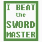 I Beat the Sword Master by Erizium