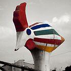 BIG BIRD IN GRAVINA by Rebecca Dru