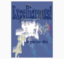Expelliarmus! Be Gone Bad Vibes by Melanie Stinson