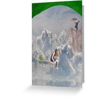Climbing Mountains Greeting Card