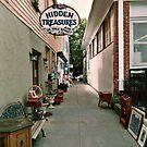Hidden Treasures on Wall Street, Ocean Grove NJ by Jane Neill-Hancock
