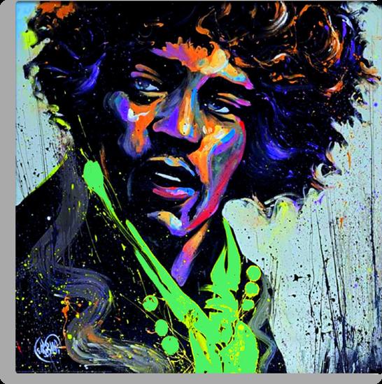 Jimi Hendrix by FEENNX