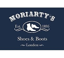 Moriarty's Shoe Shop Photographic Print