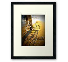 Love My Fixie Framed Print