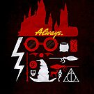 Harry Potter Iconic Poster by Risa Rodil