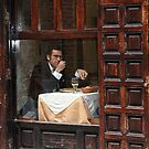 Memories of Spain 3 - Lonely Man Dinner in Madrid&#x27;s Latin Quarter by Igor Shrayer