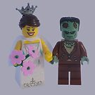 The Bride Of Frankenstein  by minifignick