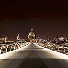 Millennium Bridge London by edozollo
