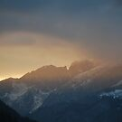 Sunset in Alpen 2 by rosiczka