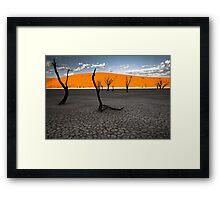 Ballerina Trees Framed Print