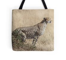 Cheetah Ready for Takeoff Tote Bag