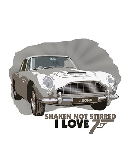 I Love James Bond by noeljerke