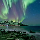 Aurora Borealis at Tromvik by Frank Olsen