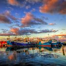 Fremantle Boat Harbour by Paul Pichugin