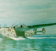 Flying Boat by Olive Denyer