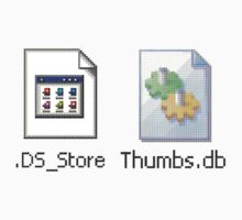DS Store and Thumbs DB by Chris Annable