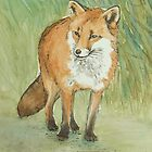 Fox by Lynne  M Kirby BA(Hons)