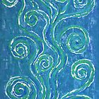 Zen Whirlpools - a representation of life. by Lisa Frances Judd ~ Original Australian Art