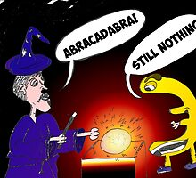 Binary Options News Cartoon Abracadabra Euro by Binary-Options
