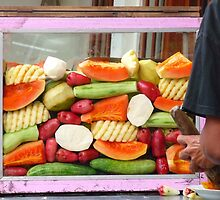 Fruit Hawker, Yogyakarta Market, Indonesia  by Miss Fruit Joy ♥  Photography