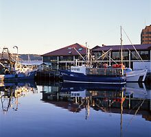 Victoria Dock & Mures—Hobart, Tasmania by Brett Rogers