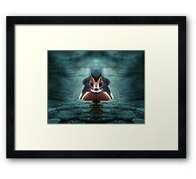 On a mission Framed Print